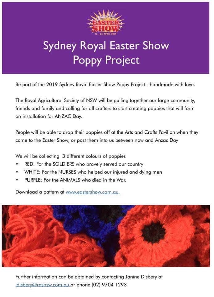Easter Show Poppies