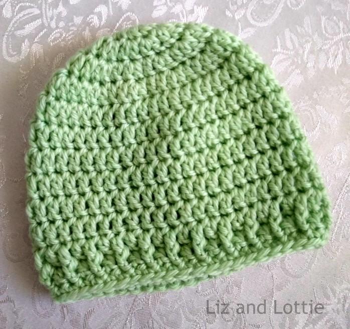 mint green beanie